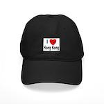 I Love Hong Kong Black Cap