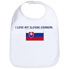 I LOVE MY SLOVAK GRANDMA Bib