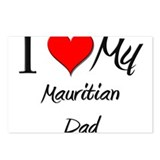 I Love My Mauritian Dad Postcards (Package of 8)