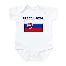 CRAZY SLOVAK Infant Bodysuit