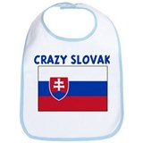 CRAZY SLOVAK Bib