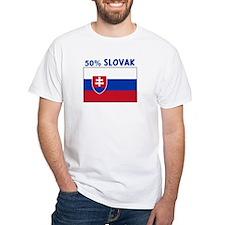 50 PERCENT SLOVAK Shirt