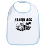Haulin Ass - Black Bib