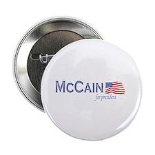"""John McCain for president 2.25"""" Button"""