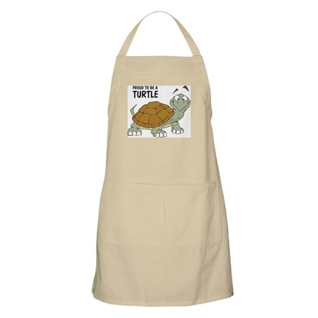 Proud To Be A Turtle BBQ Apron