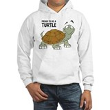 Proud To Be A Turtle Jumper Hoody