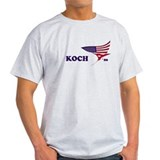 David Koch 08 flag T-Shirt