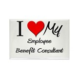 I Heart My Employee Benefit Consultant Rectangle M