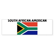 SOUTH AFRICAN-AMERICAN Bumper Bumper Sticker