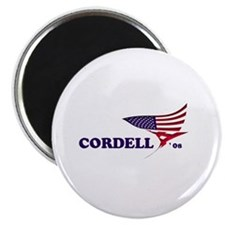Don Cordell 08 flag Magnet