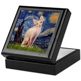 Starry Night / Sphynx Keepsake Box