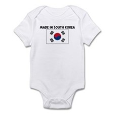 MADE IN SOUTH KOREA Infant Bodysuit
