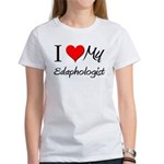 I Heart My Edaphologist Women's T-Shirt