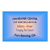Maneuver center of excellence Postcards (Package of 8)