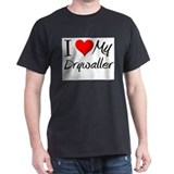 I Heart My Drywaller T-Shirt