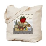 Cute School Teacher Tote Bag