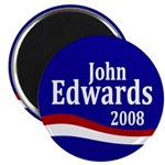 John Edwards 2008 Magnet
