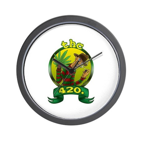 &amp;quot;thc420.&amp;quot; Wall Clock