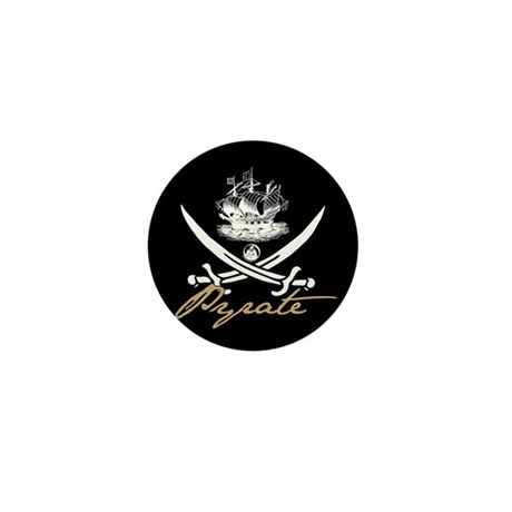 Elizabethan Pyrate Insignia Mini Button (100 pack)