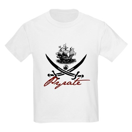 Elizabethan Pyrate Insignia Kids Light T-Shirt