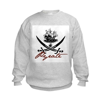 Elizabethan Pyrate Insignia Kids Sweatshirt