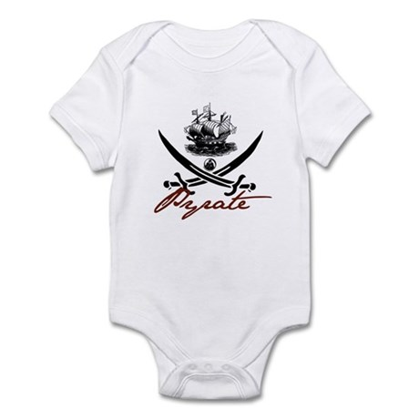 Elizabethan Pyrate Insignia Infant Bodysuit