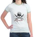Elizabethan Pyrate Insignia Jr. Ringer T-Shirt