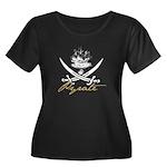 Elizabethan Pyrate Insignia Women's Plus Size Scoo