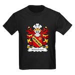 Middleton Family Crest Kids Dark T-Shirt