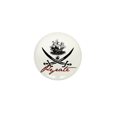 Elizabethan Pyrate Insignia Mini Button (10 pack)