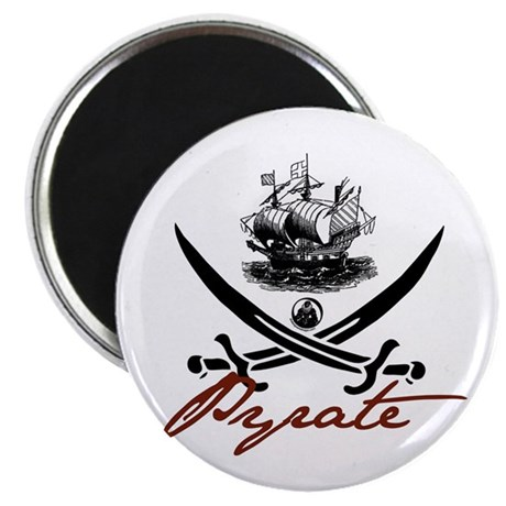"""Elizabethan Pyrate Insignia 2.25"""" Magnet (100 pack"""