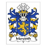 Meredith Family Crest Small Poster