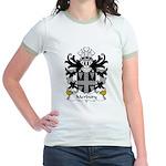 Merbury Family Crest Jr. Ringer T-Shirt