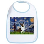 Starry Night / Welsh Corgi Bib