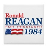 VoteWear! Reagan Tile Coaster