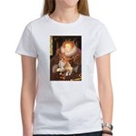 Queen / Welsh Corgi Women's T-Shirt