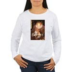 Queen / Welsh Corgi Women's Long Sleeve T-Shirt