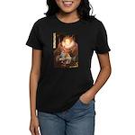 Queen / Welsh Corgi Women's Dark T-Shirt
