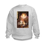 Queen / Welsh Corgi Kids Sweatshirt