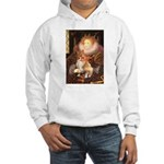 Queen / Welsh Corgi Hooded Sweatshirt