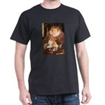 Queen / Welsh Corgi Dark T-Shirt
