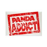 Panda ADDICT Rectangle Magnet