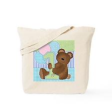 Cute 1st Birthday Tote Bag