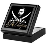 El Draque Pirate Insignia Keepsake Box