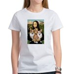 Mona / Corgi Pair (p) Women's T-Shirt