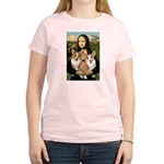 Mona / Corgi Pair (p) Women's Light T-Shirt