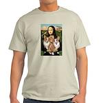 Mona / Corgi Pair (p) Light T-Shirt