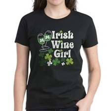 Irish Wine Girl Tee