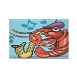 Cool Crawdad Rectangle Magnet (10 pack)