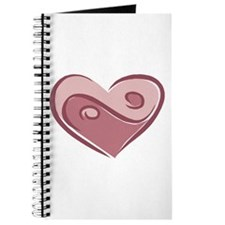 Ying Yang Heart Design Journal